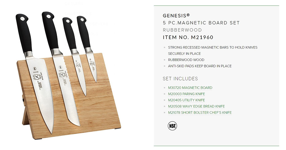 Mercer culinary, knives, genesis