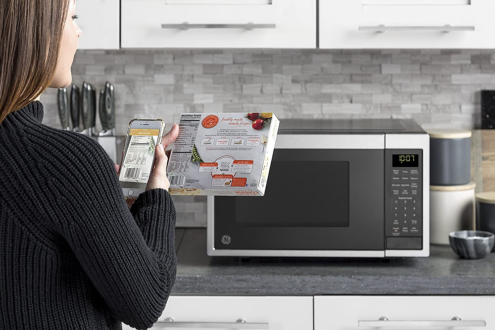 GE Scan to Cook WiFi Smart Microwave