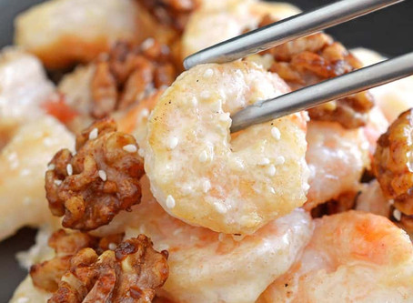 Quick & Easy Honey Walnut Shrimp Recipe