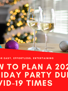 How to Plan a Holiday Party During COVID-19