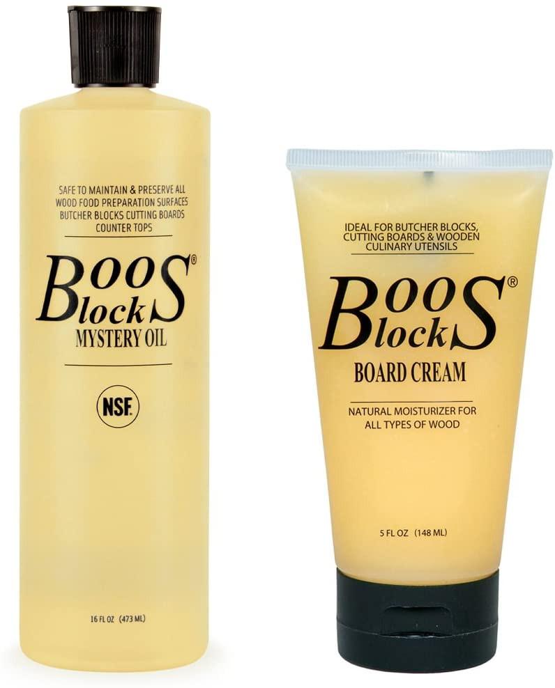 Boos Block Oil & Creams for Cutting Boards