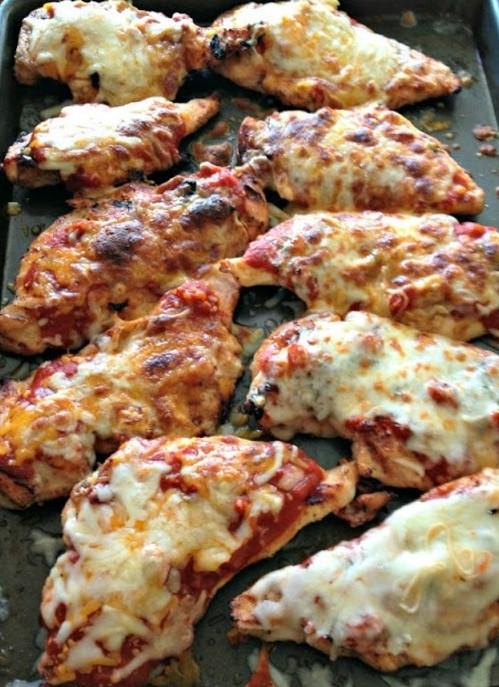 chicken parm grilled chicken