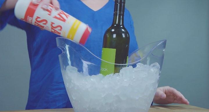 salt wine bucket chilling