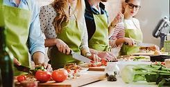 Corporate Cooking Classes and Team Building Events with AWG Private Chefs