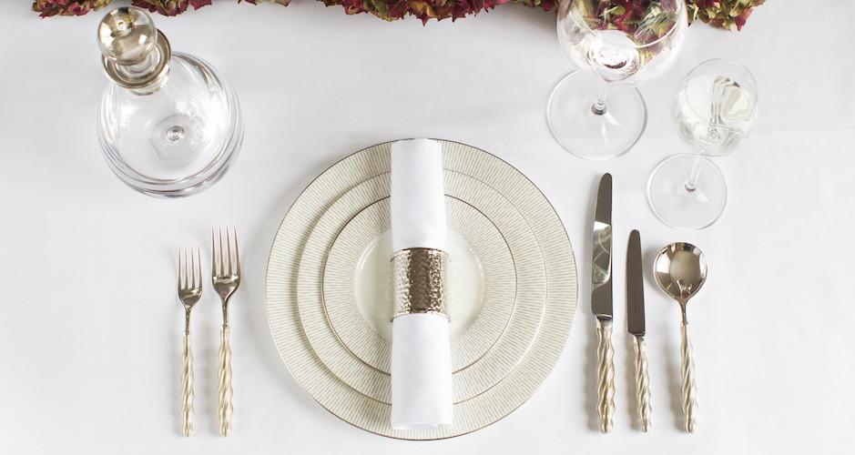 fancy table setting