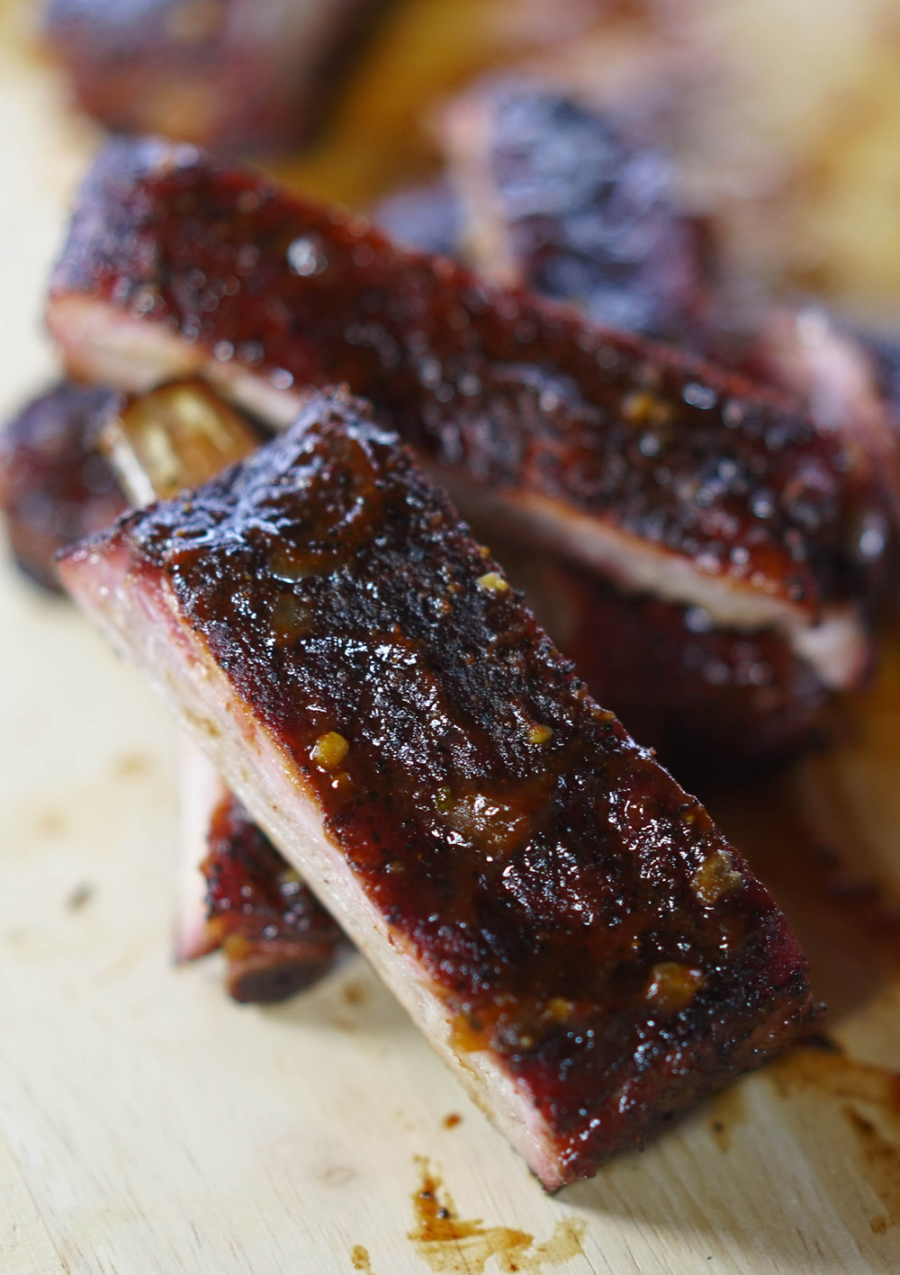 espresso rubbed pork ribs
