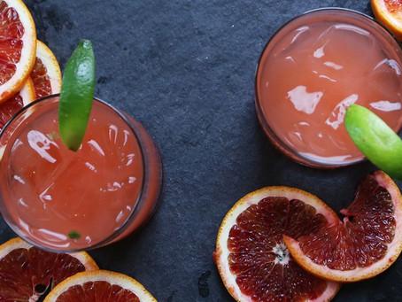 Cinco De Mayo:  The perfect blood orange margarita!
