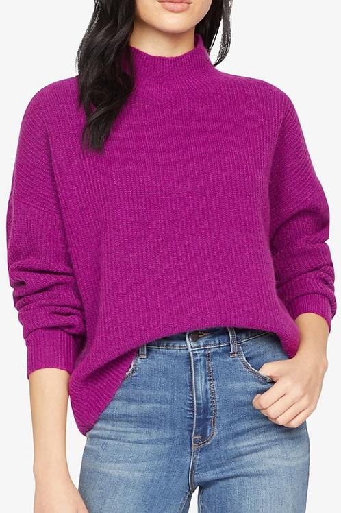 Fuzzy Mock Sweater