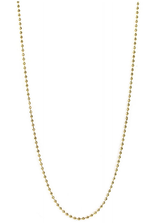 "Gold and Silver 18"" Chain"