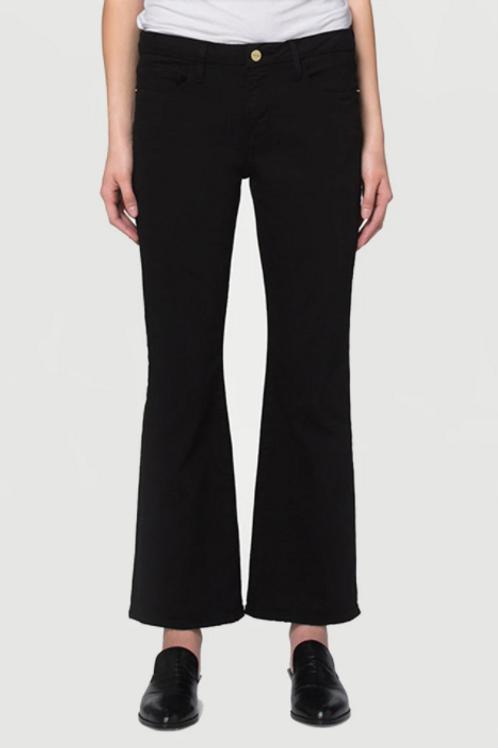 Black Cropped Jean