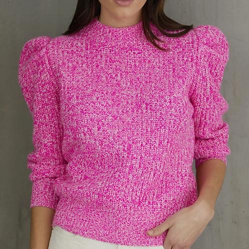 Neon Tweed Sweater