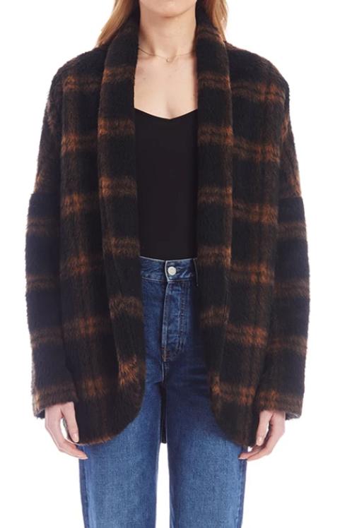 Black & Brown Coat (YK30011)