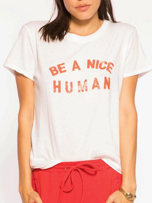 Be A Nice Human Tee (W3018333)