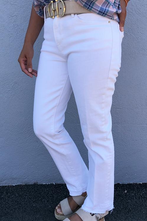 White Crop Jean (LHSTRH009)