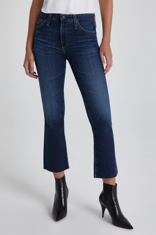 Frayed Cropped Bootcut