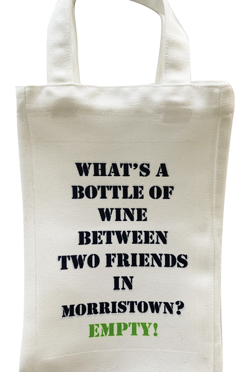 Wine Bag (Summit & Morristown)
