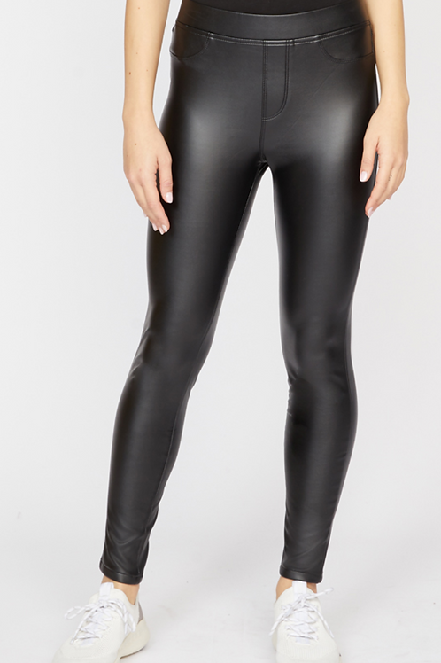 Runway Faux Leather Pant