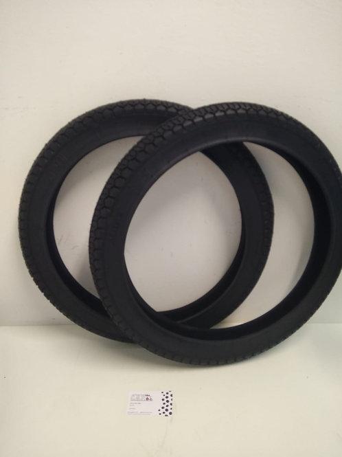 Neumático mitas  2x 1/4- 16 dibujo clásico