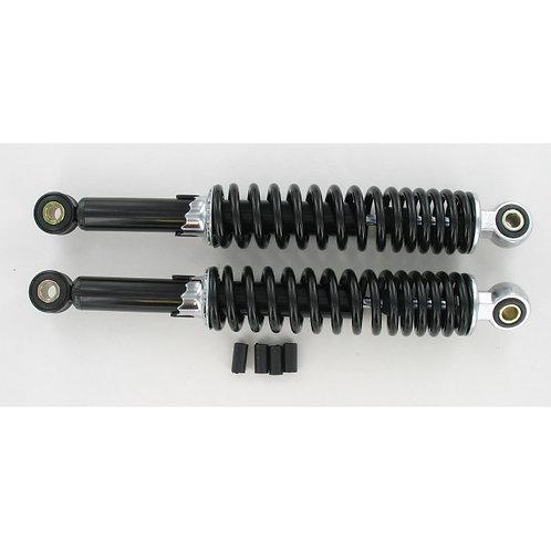 Amortiguadores regulables negros 320mm