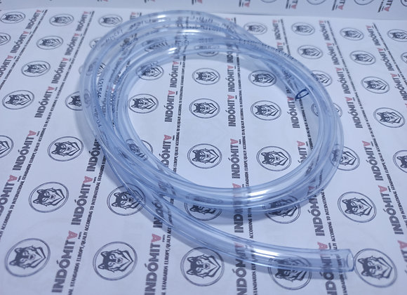 1m de tubo de gasolina transparente 5x8