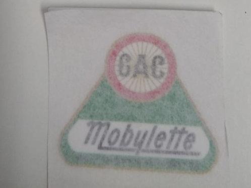 Pegatina-Adhesivo GAC mobylette