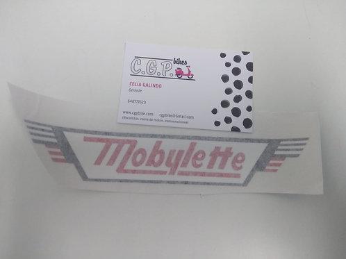 Pegatina-Adhesivo mobylette