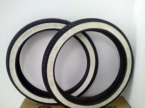 Neumático banda blanca 2 1/4 16 precio unidad