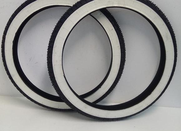 Neumático mitas banda blanca 2x1/4-18