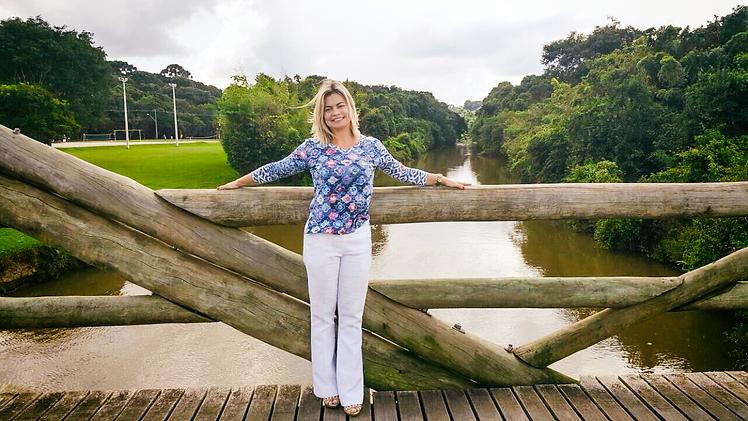 Amanda Amarante em Parque São Lourenço