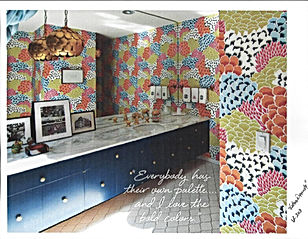 Bob Collins And Sons Fabric Wallpaper