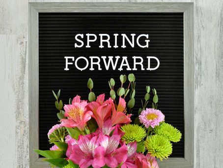 Don't Forget to Spring Ahead!