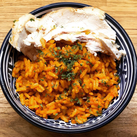 Easy Peasy 'Jolloff' Rice