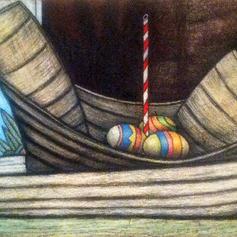 Holiday Egg Boat
