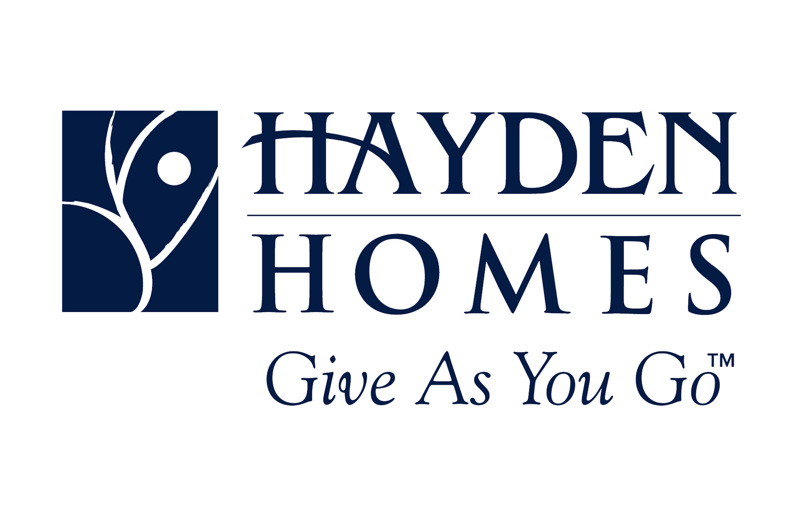 Hayden Homes for DPLF website wheel