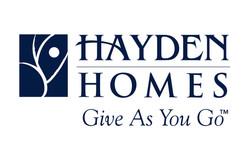 Hayden Homes for DPLF website wheel