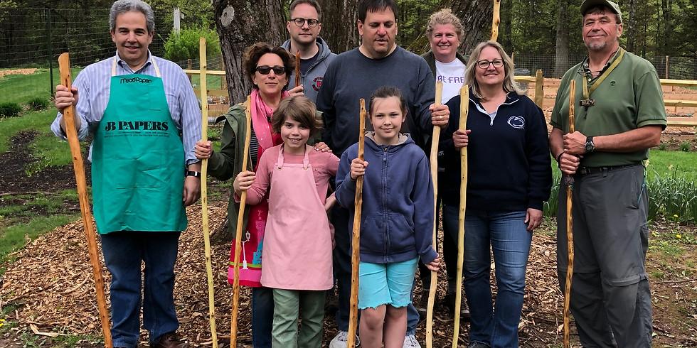 Make Your Own Walking Stick Workshop