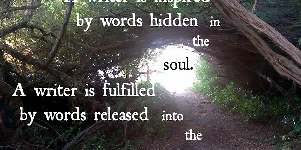 Mindfulness Guided Walk - Nina DeCoster -- Writer, Whittemore as Muse
