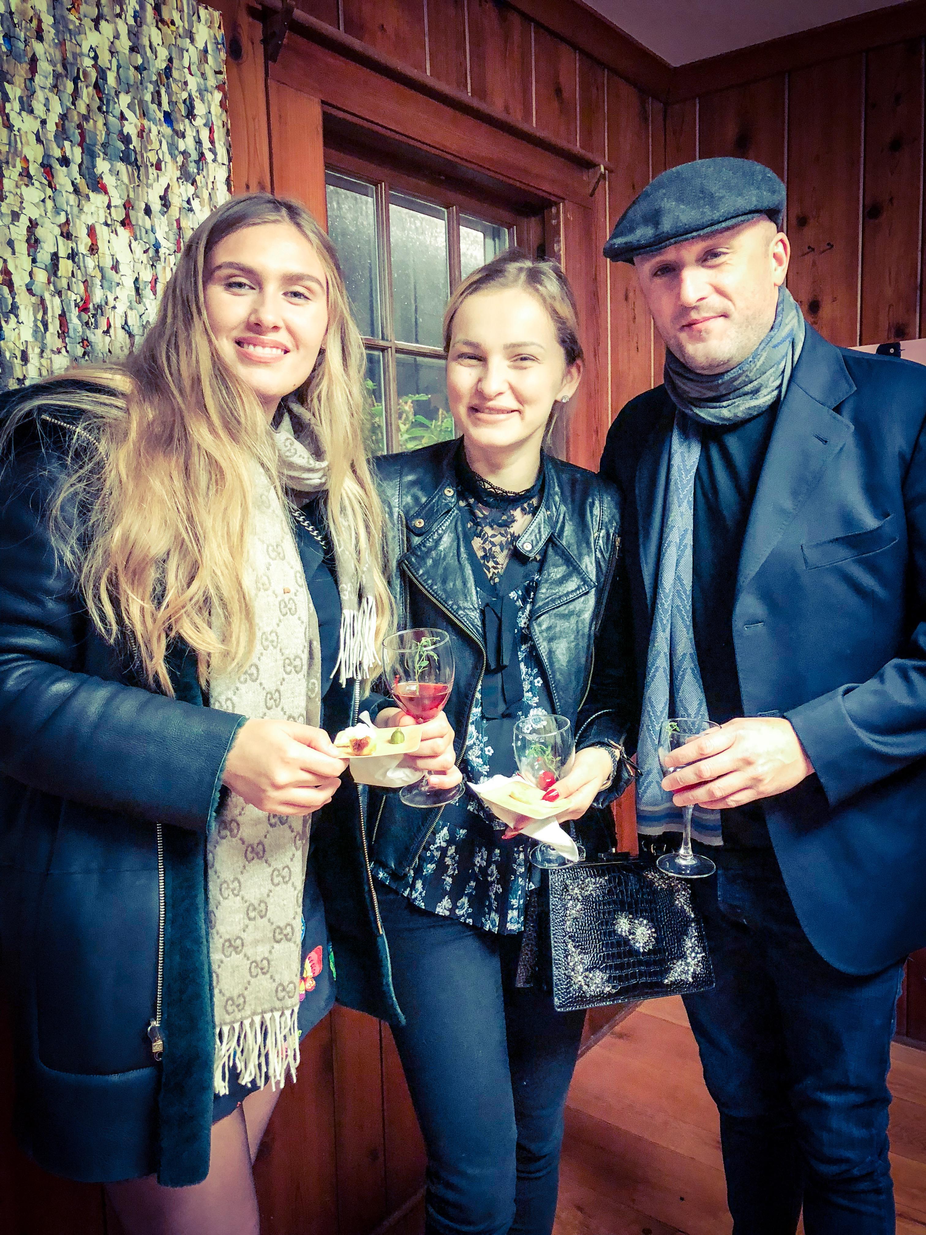 Karen, Sara & Fabrizio