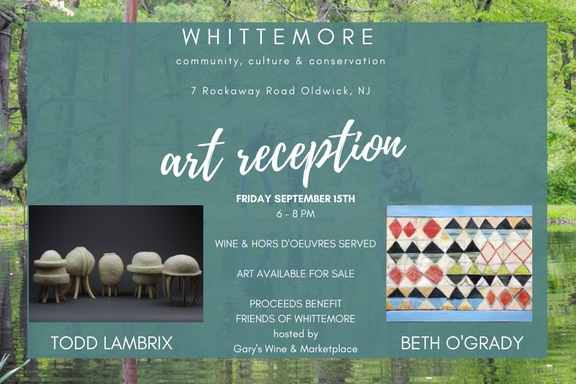 art reception invitation