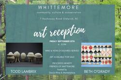 art reception invitation
