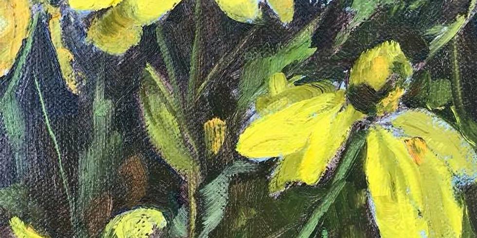 Anne Kullaf - Oil Painting En-Plein-Air October