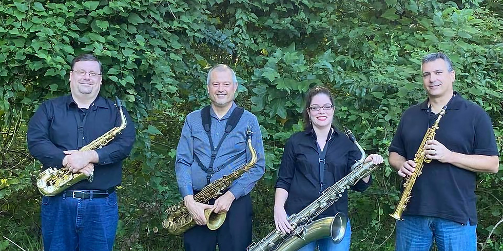 Fall Garden Concert - Sunken City Saxophone Quartet