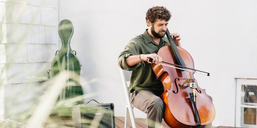 Garden Concert - Get into the Percussive Groove with Cellist Dan Kassel