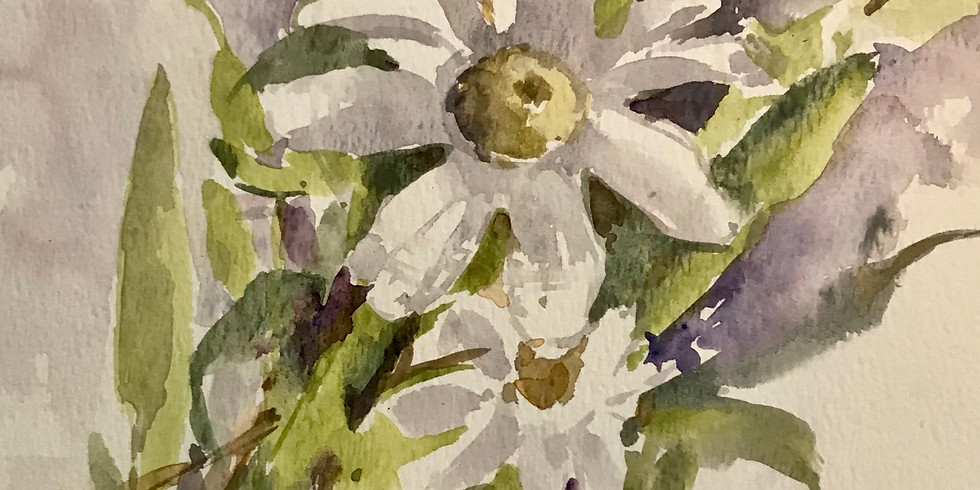 Anne Kullaf - Watercolor: Nature Journaling August