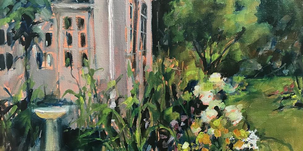 Anne Kullaf - Oil Painting En-Plein-Air - August