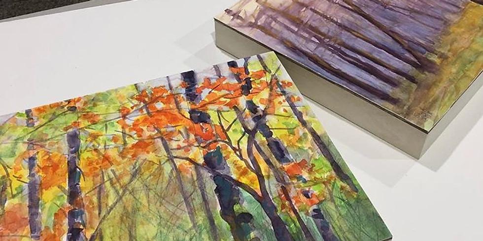 Watercolor with Multimedia En-Plein-Air in May (1)