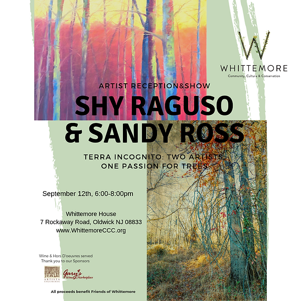 2019 Ross & Raguso Artist Reception & Sh