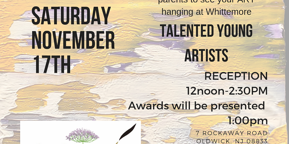 Talented Young Artists Reception