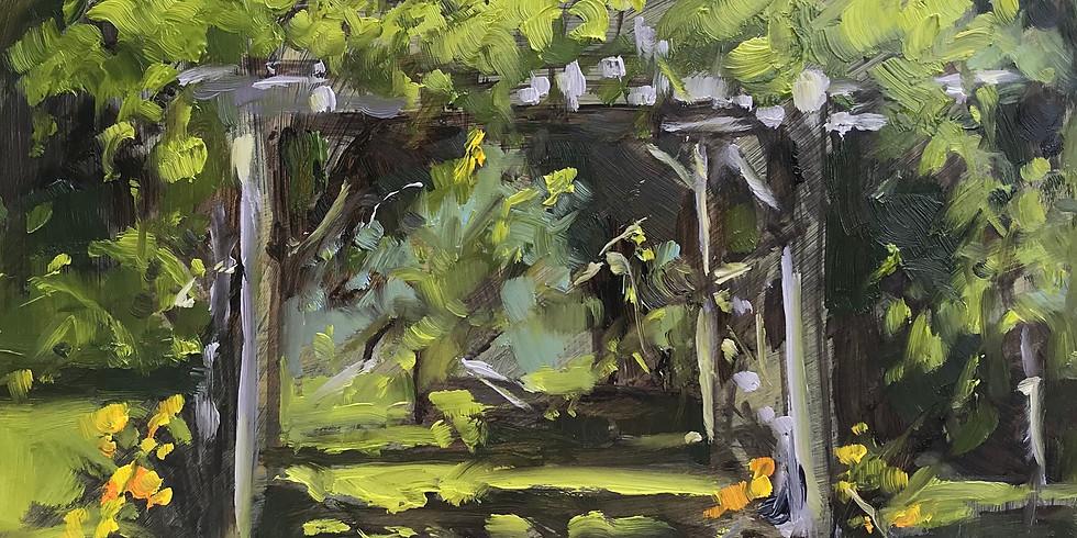 Anne Kullaf - Oil Painting En-Plein-Air in September