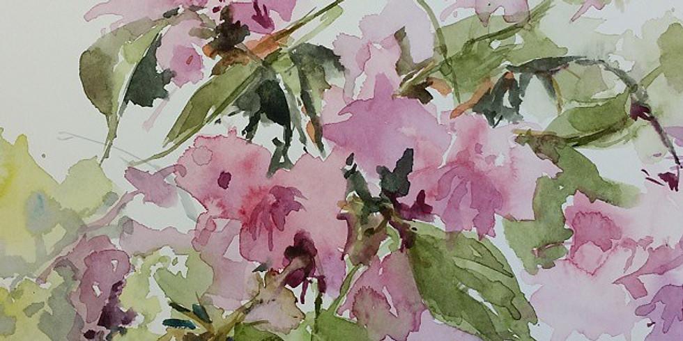 Anne Kullaf - Plein-Air Watercolor Painting classess